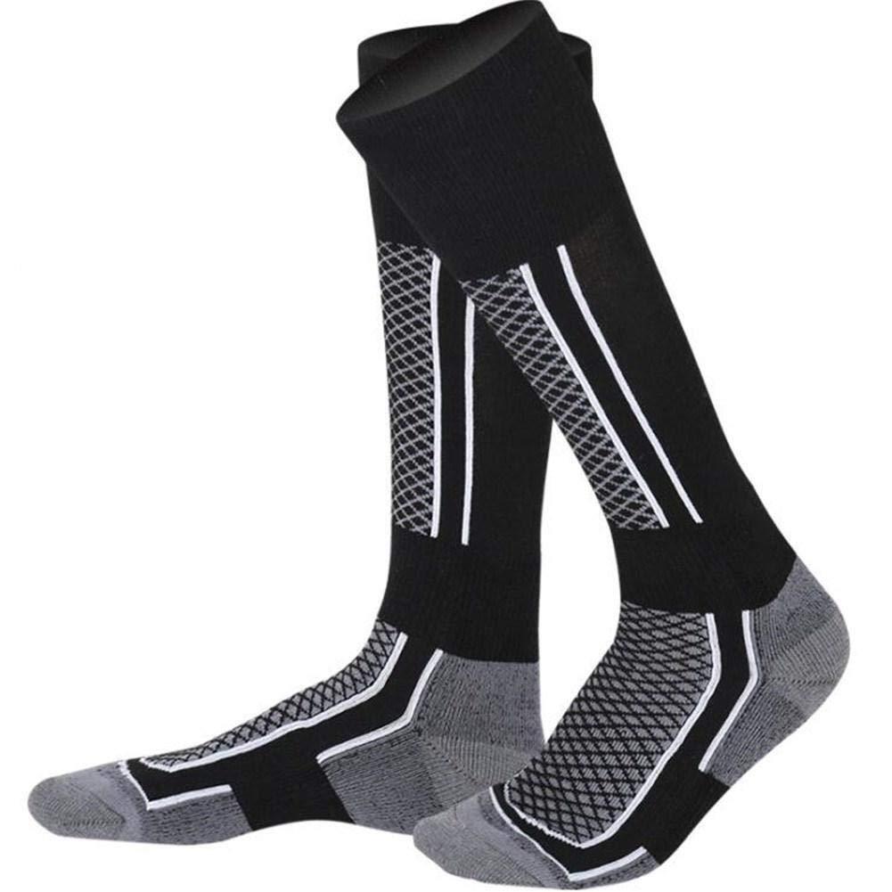 YUANYUAN520 Sock Calze da Sci Invernali da Donna//da Uomo Calze da Sci Termali da Sci Lunghe Camminate Escursionismo Sport Asciugamani Calze Formato Libero