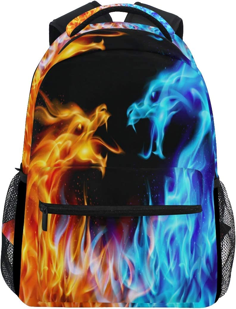 Laptop Backpack Boys Grils Camouflage Shark School Bookbags Computer Daypack for Travel Hiking Camping