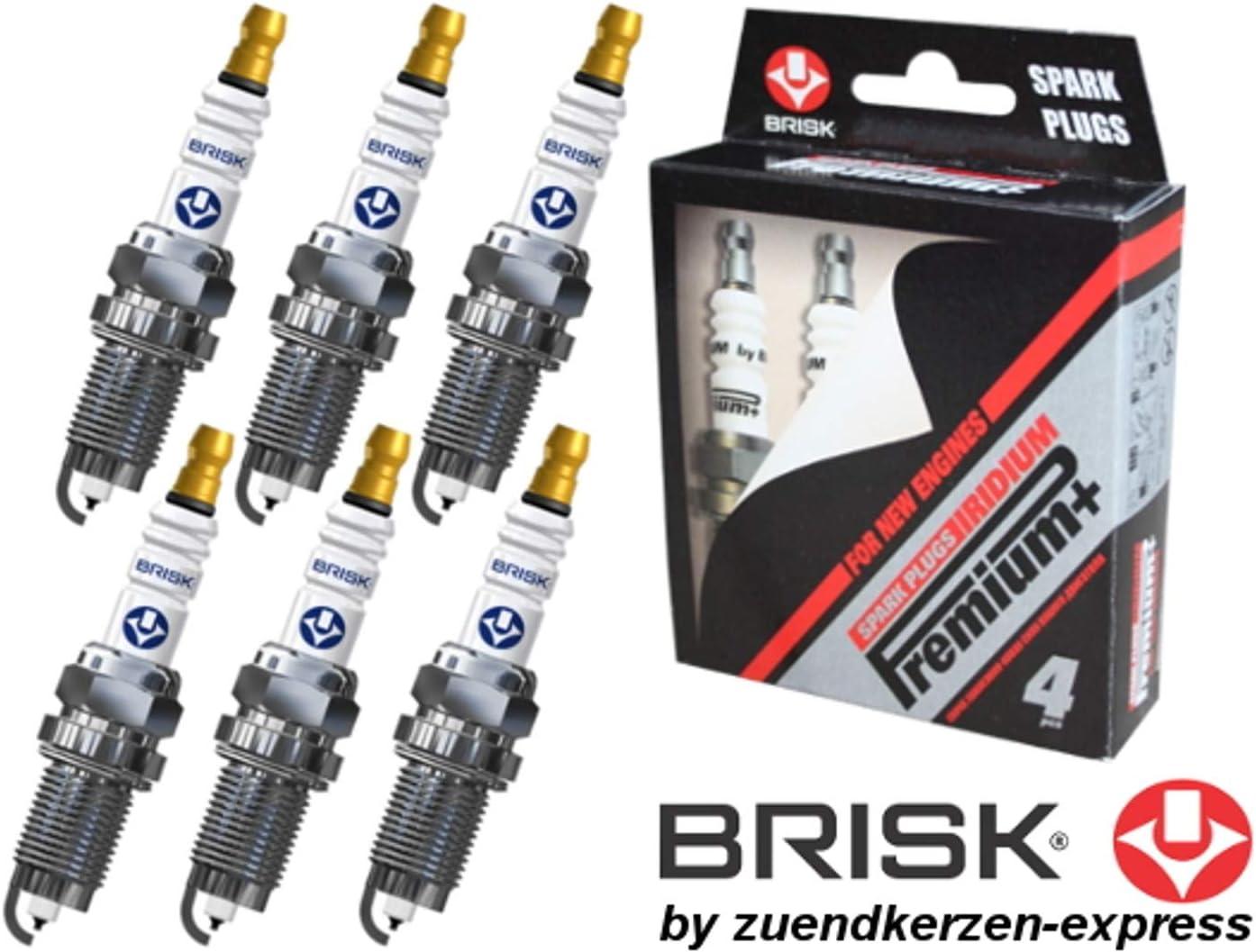 Brisk Iridium Premium set di 6 Plus P4 DR15YIR 1622 Candele daccensione