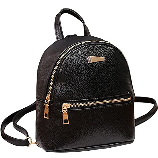 1f4f5d1eefa Fashion Small Backpacks Purse for Teen Girls Casual Daypack Faux Leather  Afterso