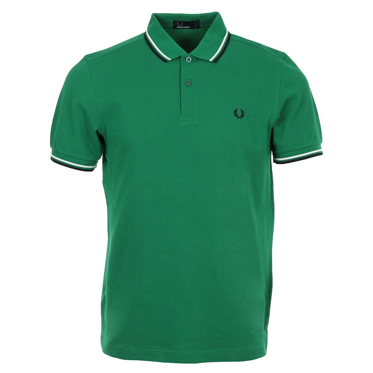 Fred Perry Polo Uomo Twin Tipped M3600 Verde: Amazon.es: Ropa y ...