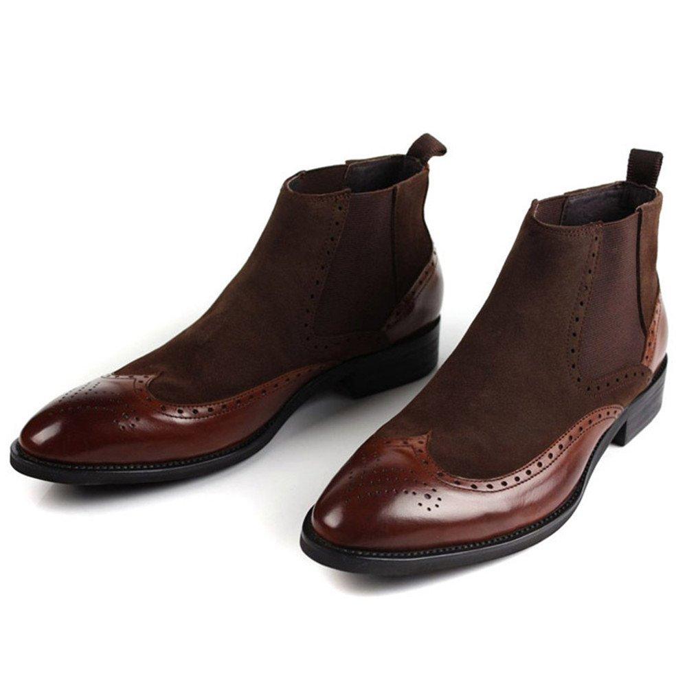 Männer - mode martin stiefel, lässig, leder, martin stiefel stiefel stiefel und englisch - stiefel,braun,38 3bf3ff