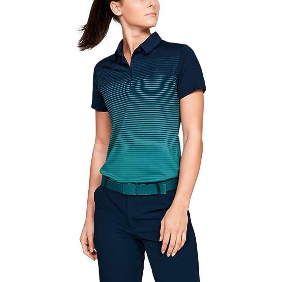 Under Armour Zinger Short Sleeve Novelty Polo - Polo Mujer: Amazon ...