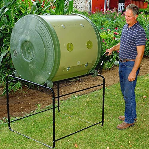 MANTIS compostador de jardín Giratorio compostumbler ...