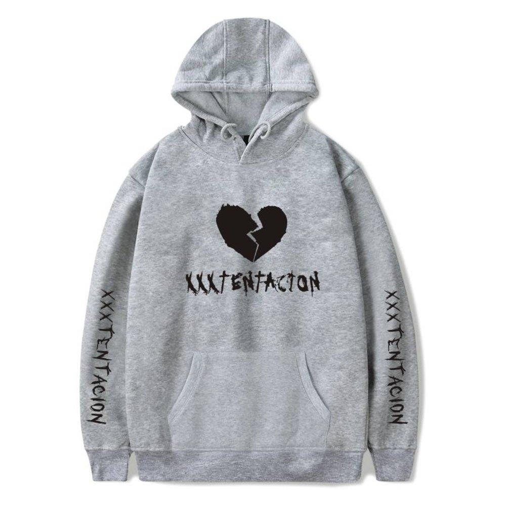 Maisley Rapper Xxxtentacion Broken Heart Design Prints Sudaderas con Capucha Unisex: Amazon.es: Ropa y accesorios