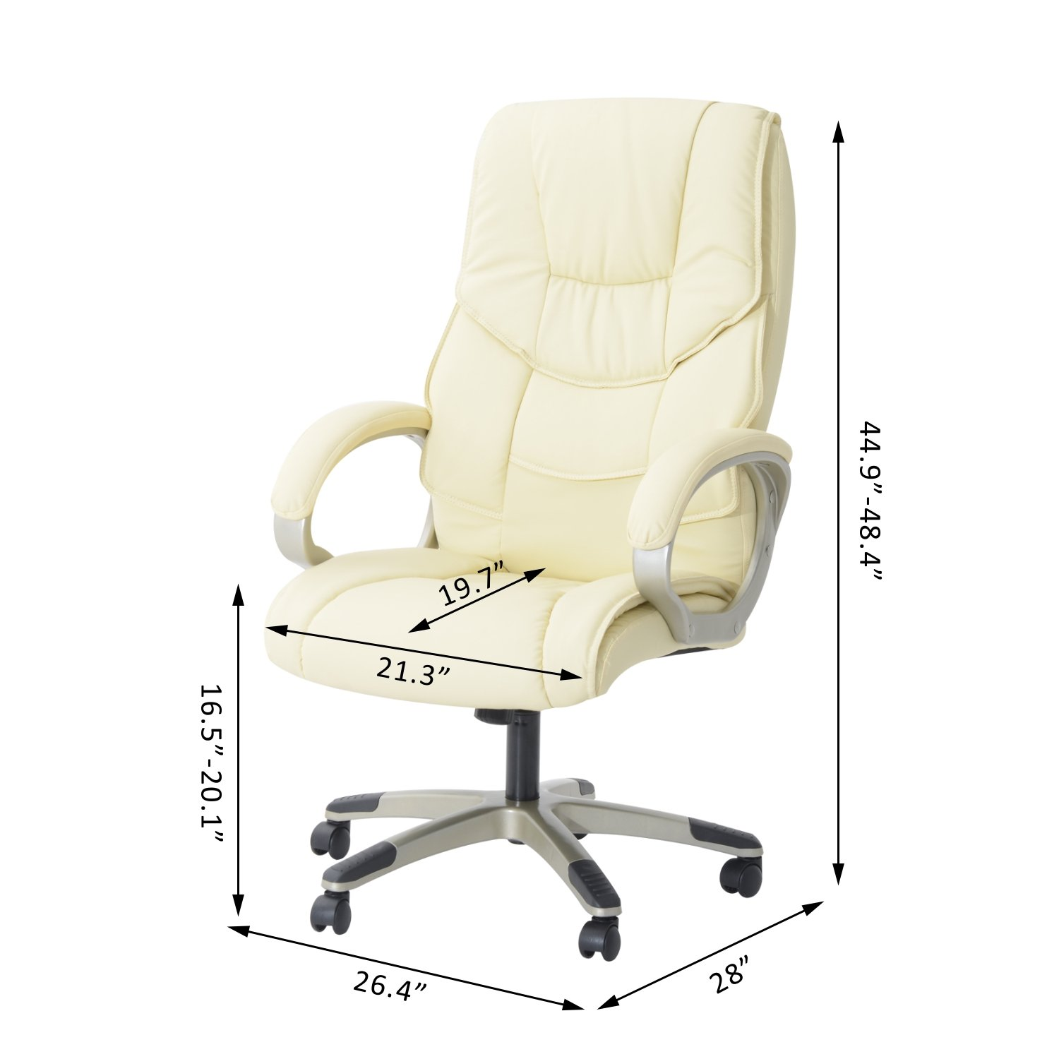 HOM Executive fice Chair High Back PU Leather puter PC