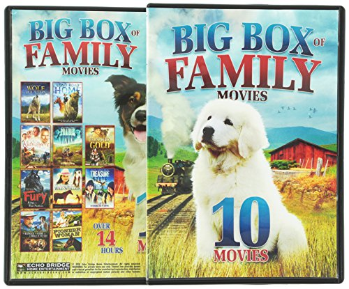 10-Big Box Of Family Movies V.2 (Full Frame, Widescreen, 2 Pack, 2PC)