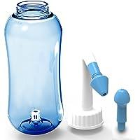 ONCCI 500ml Lavaggio Nasale,Irrigatore Nasale Manuale per Lavaggi Nasali Neti Lota manuale per Irrigazione nasale Naso Pulizia Bottiglia