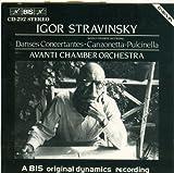 Stravinsky: Danses Concertantes / Pulcinella, Suite / Sibelius, Canzonetta, Op. 42a