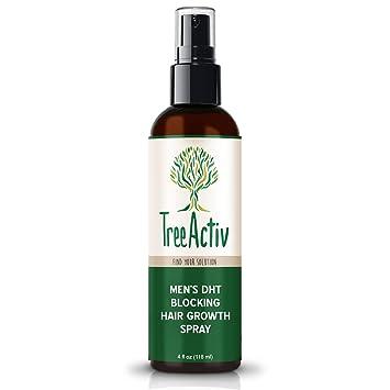 TreeActiv Men's DHT Blocking Hair Growth Spray, DHT Blocker for Hair  Growth, Blocks Conversion of