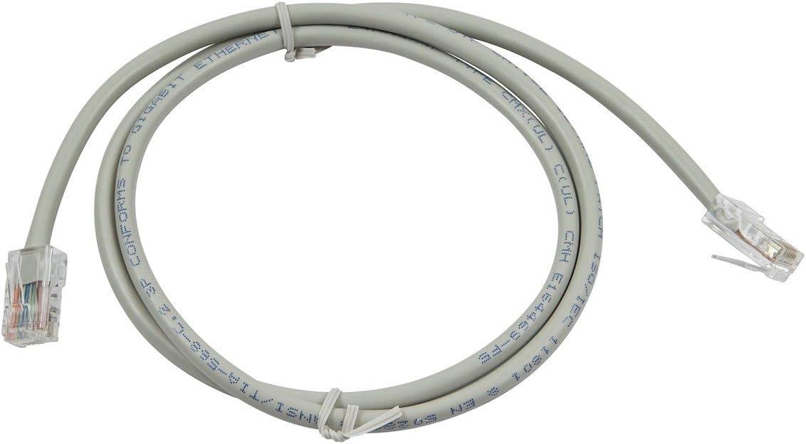 CLASSYTEK ZEROboot Series Cat5e 24AWG UTP Ethernet Network Patch Cable 3ft Gray