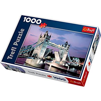 NHL Figures Trefl Tower Bridge 1000-Piece Puzzle: Toys & Games
