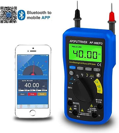 Digital-souvent Appareil de mesure Pinces-Multimeter avec automatique polarité Affichage