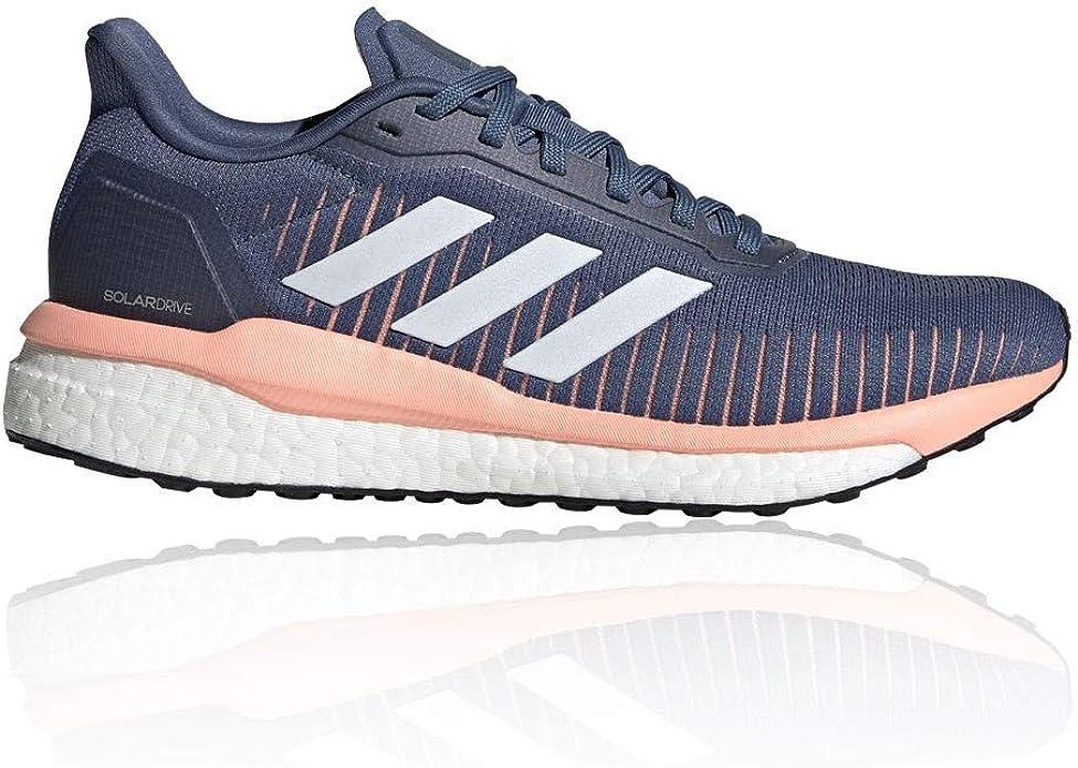 hummel Solar Drive 19 W, Zapatillas para Correr para Mujer, Tecink Ftwwht Glopnk, 38 EU: Amazon.es: Zapatos y complementos