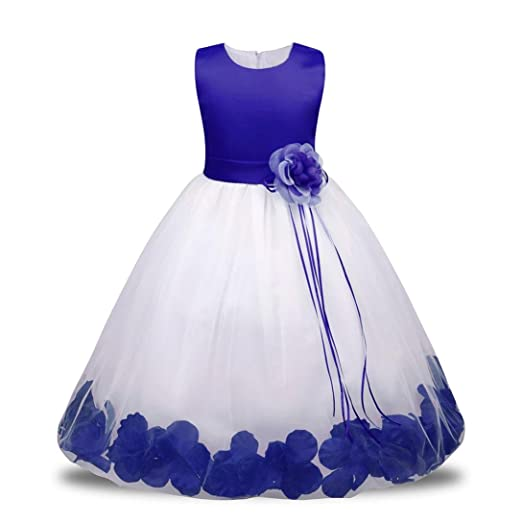 HOT SALE!!0.5-7 Years Old Bridesmaid Pageant Tutu Tulle Gown Party Wedding