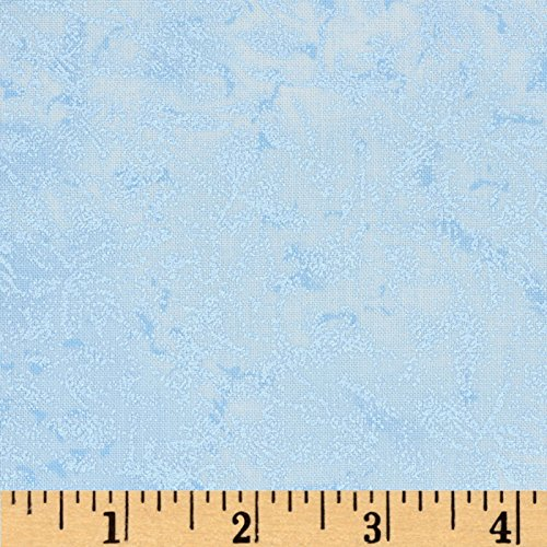 Michael Miller Fairy Frost Metallic Fabric by The Yard, Powder Blue -
