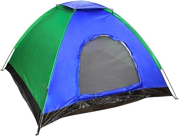 Aktive - Tienda Camping para 4 personas con protección UVA y ...