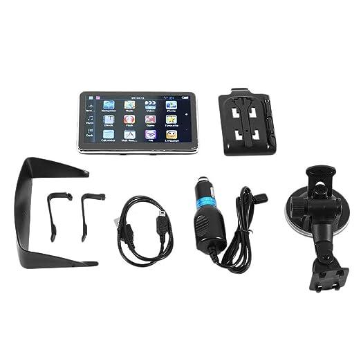 Funnyrunstore 5 Pulgadas de Pantalla TFT LCD Carro del Coche de navegación GPS Navigator Sat Nav 8 GB 560,Negro: Amazon.es: Electrónica