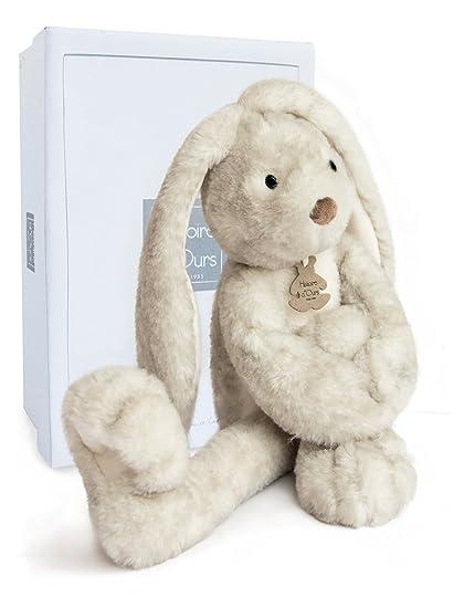 Histoire d ours Fluffy peluche conejo larga piernas Perle
