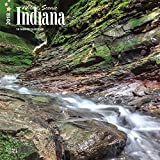 Indiana, Wild & Scenic 2018 12 x 12 Inch Monthly Square Wall Calendar, USA United States of America Midwest State Nature (English, French and Spanish Edition)