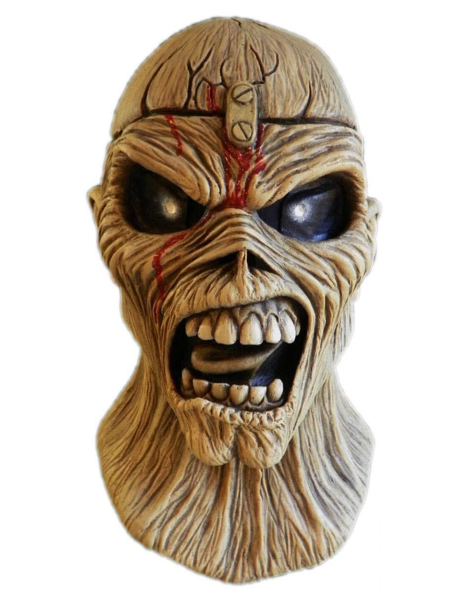 Iron Maiden Piece of Mind Maske als Heavy Metal Fan Merchandise