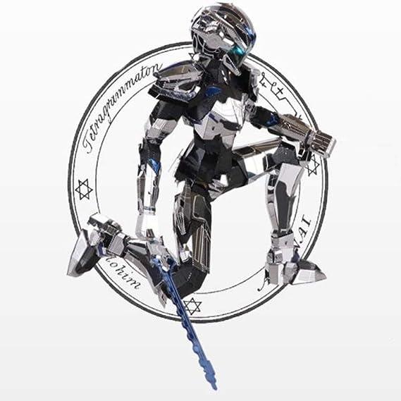 Mech Badel 3D Tridimensional Rompecabezas de Metal ...