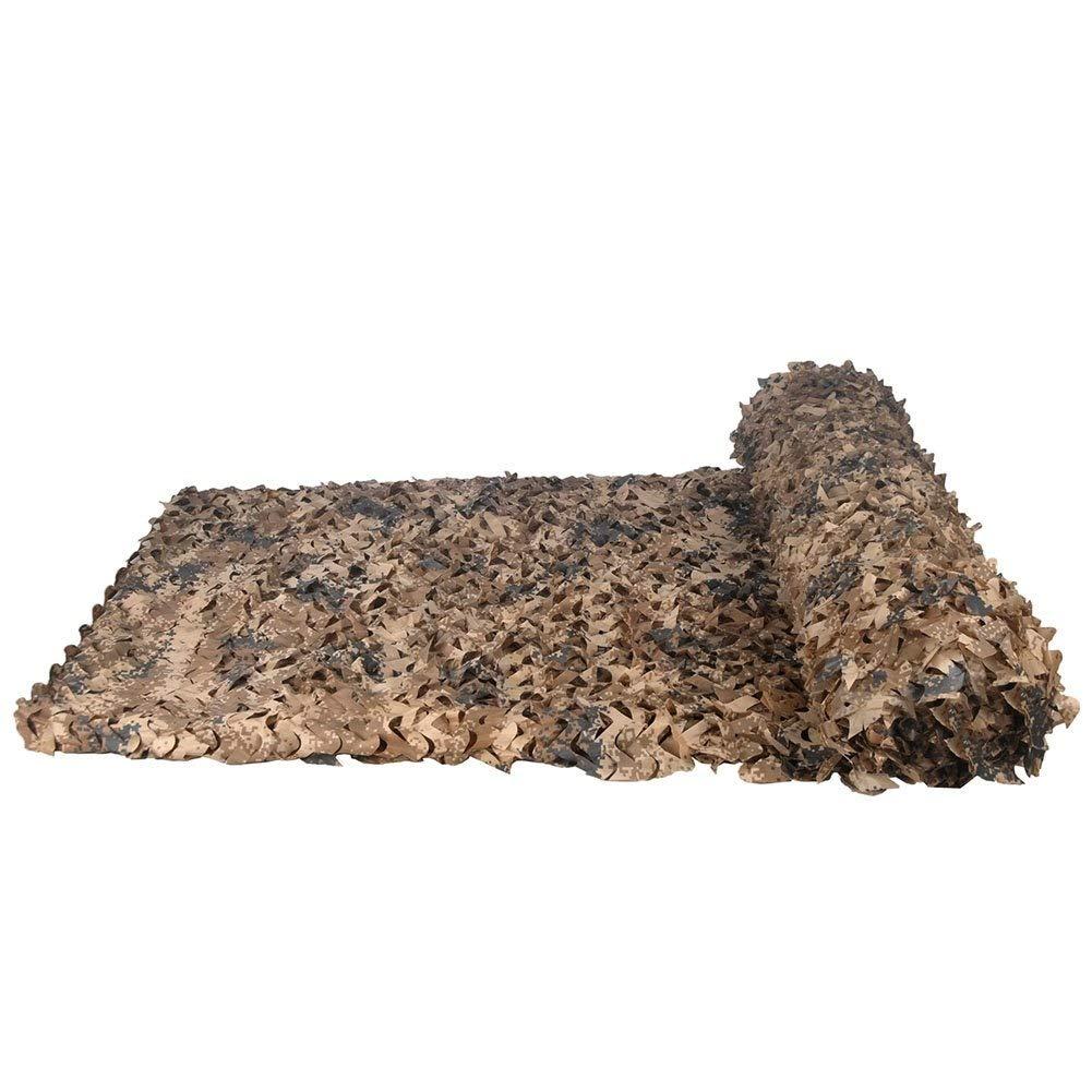 HHSzp Militärisches Tarnnetz-Feldschießen, Desert Camouflage, 2 × 3M [Mehrere Größen]