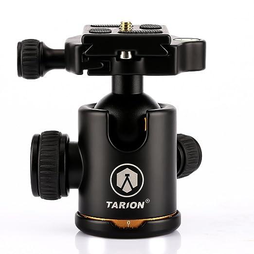 111 opinioni per TARION Q02 Panorama testa a sfera testa del treppiede incl. piastra di rilascio