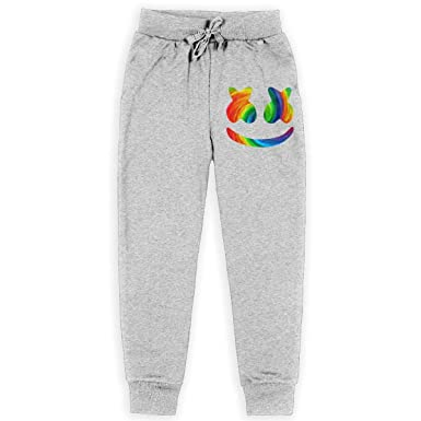 FROOLOCP - Pantalones de chándal para niños con Logo de Marshmello ...