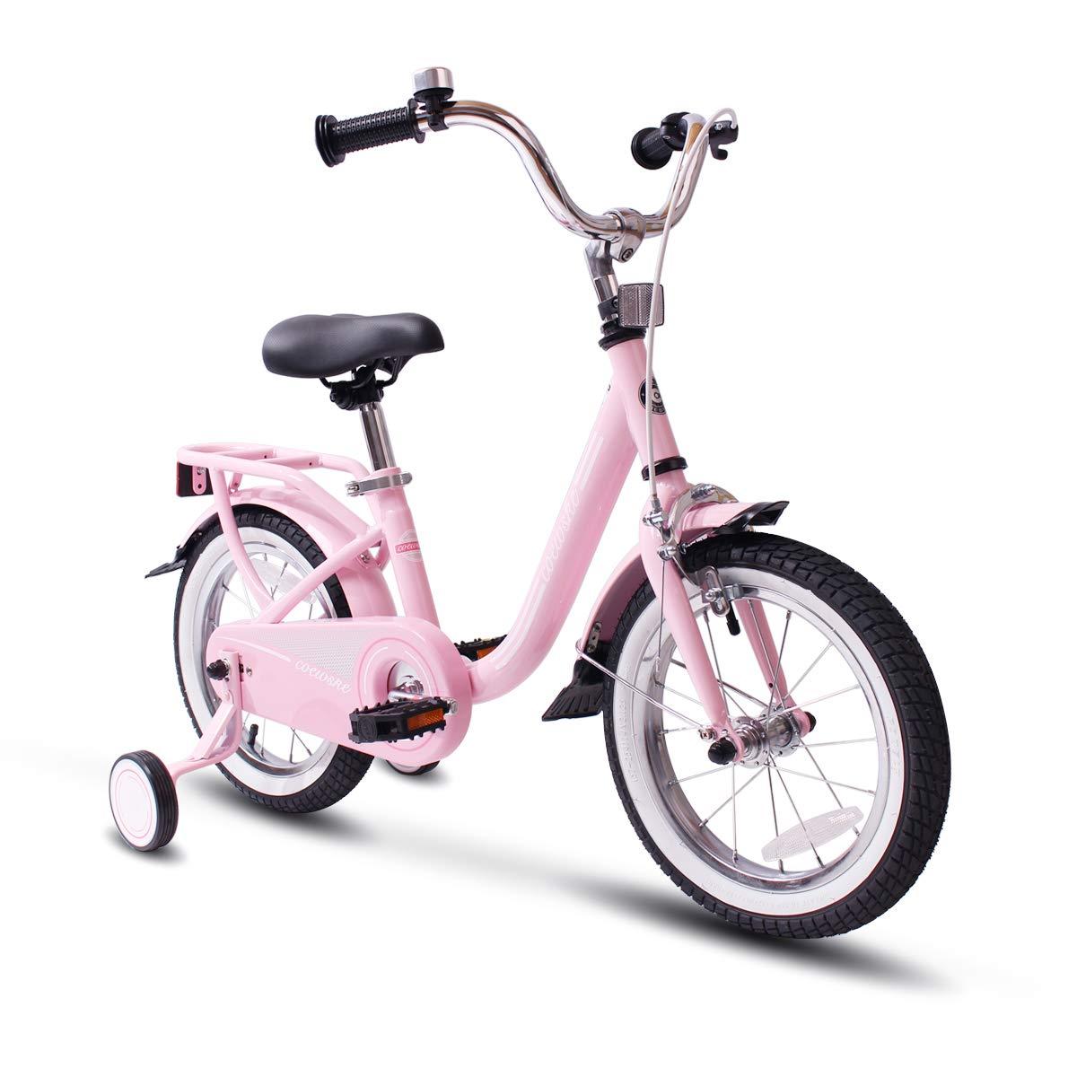 COEWSKE Kid's Bike Steel Frame Children Bicycle 14-16 Inch with Training Wheel product image