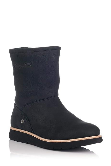Panama Jack Steffany B8, Bota Mujer Nobuck Negro: Amazon.es: Zapatos y complementos