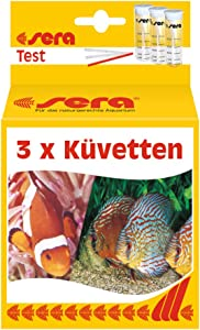 Sera 3 Piece Vials Supplementary Pack Aquarium Test Kits