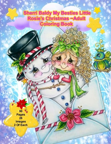 Sherri Baldy My Besties Little Rosie's Christmas Coloring Book