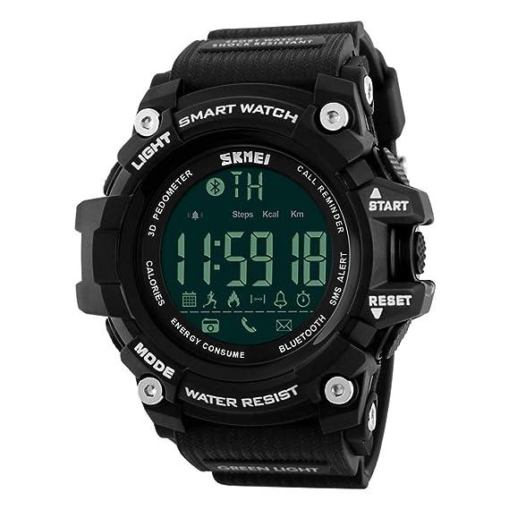 Amazon.com: Outdoor Sport Smart Watch Men Bluetooth ...