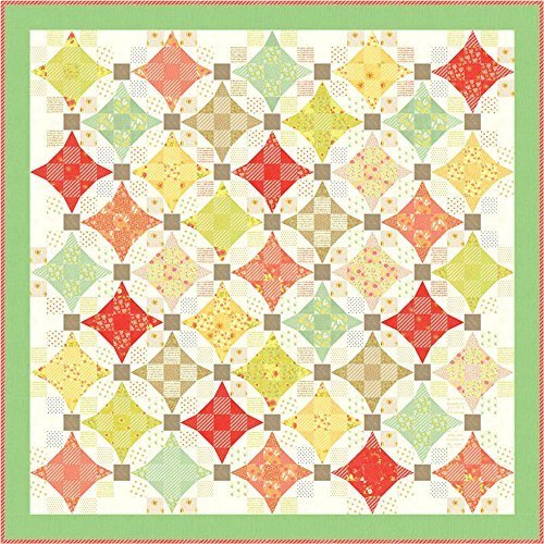 (Fig Tree and Co Ella & Ollie Nine Patch Waltz Quilt Kit Moda Fabrics)