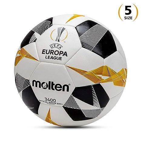 ADLIN Copa de la Liga Europea No. 5 Fútbol de Cuero Suave ...