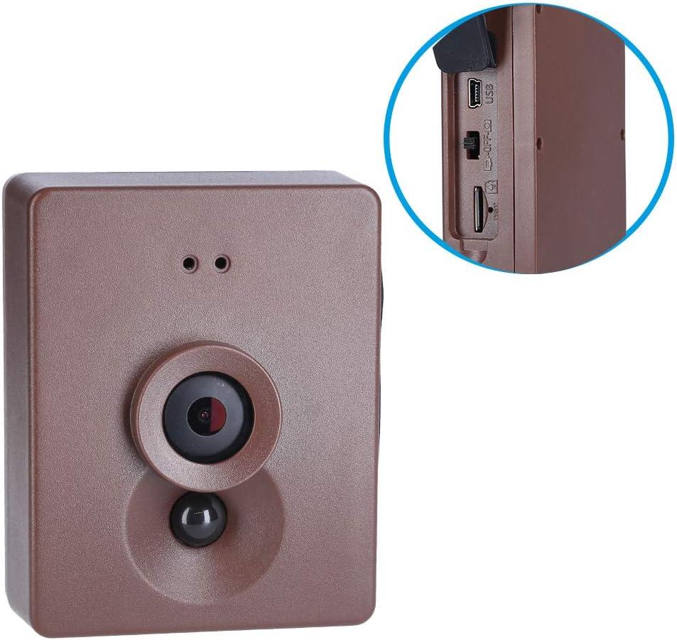 FSC Maginon VK F1 Vogelhaus Vogel-Futterstation mit Kamera aus nachhaltig zertifiziertem Holz