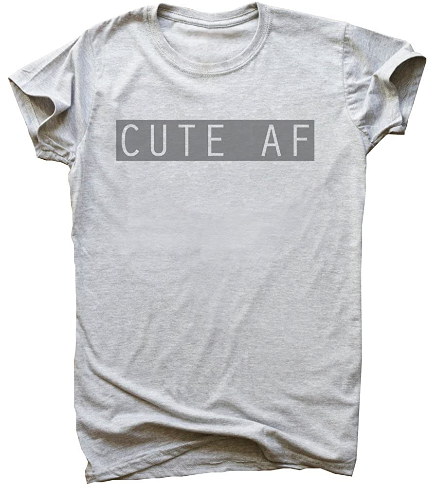 Simple Lovely Design Mens T-Shirt Cute AF