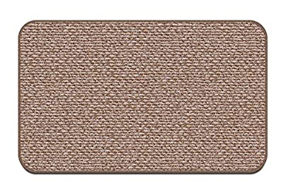 Skid-resistant Carpet Indoor Area Rug Floor Mat - Praline Brown - Many Other Sizes to Choose From