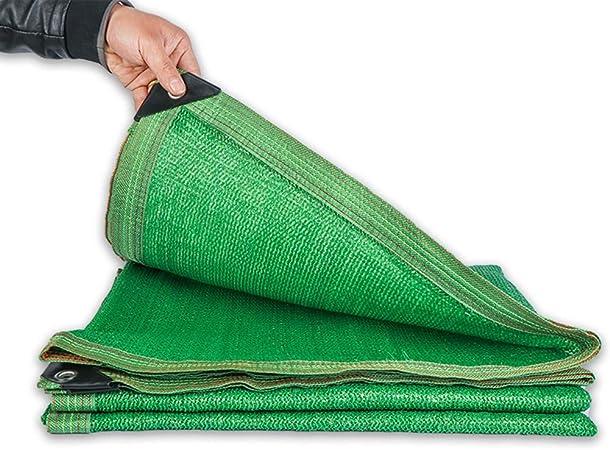 Malla Sombra, Tela Verde de Tela de Sombra, Malla de Malla Resistente al UV del 80% de Bloqueo - for Exteriores, Patio Trasero, jardín, Planta, Granero, Invernadero, Bodas, Mantel Individual: Amazon.es: Hogar