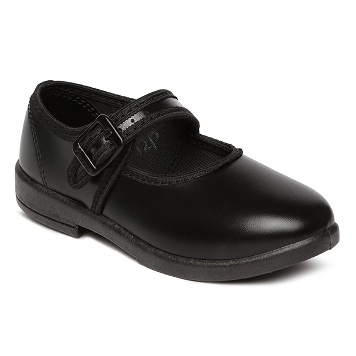 2df4326531748 PARAGON Kid's Black School Shoes