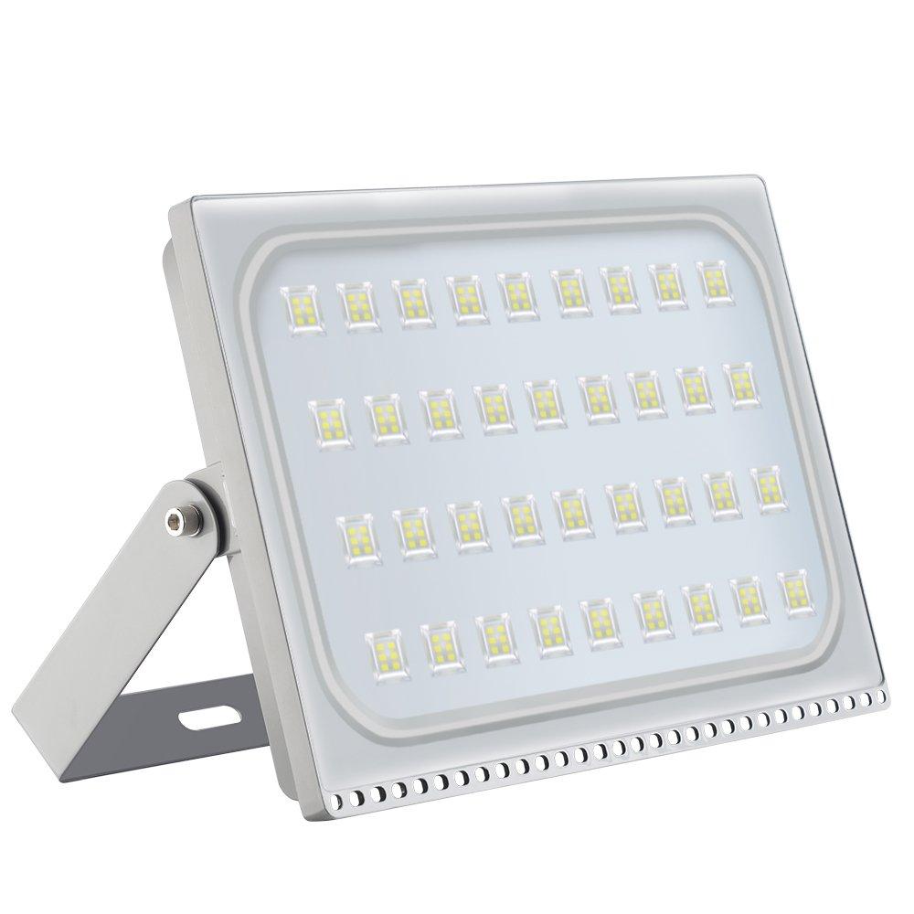 LED Flood Light Chunnuan, 200W,17000LUMEN 6000-6500K (Cold White), IP65 Waterproof,Outdoor Security Lights Garden Landscape Spot Lamp Super Bright Floodlight 110v by chunnuan