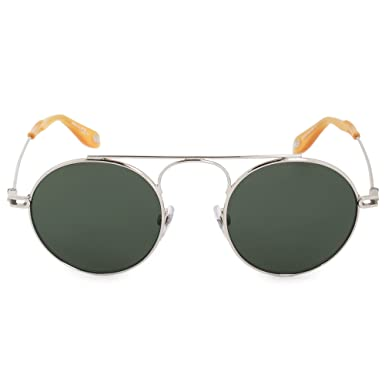 7f3d1ca618c Sunglasses Givenchy Gv 7054 S 0010 Palladium QT green lens at Amazon Men s  Clothing store