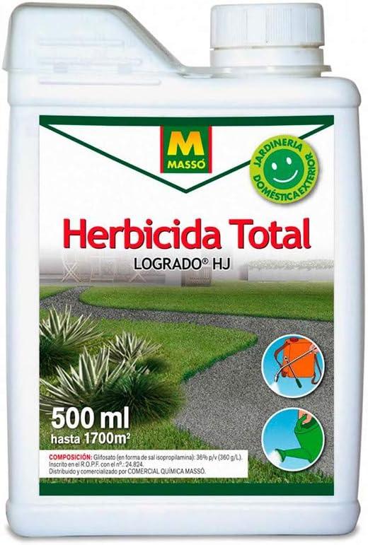 MASSO 231314 - herbicida Total 500 ml.: Amazon.es: Jardín