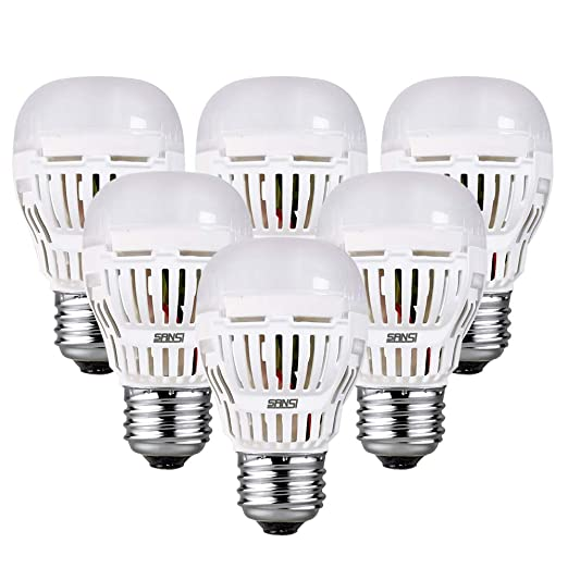 Amazon.com: SANSI 90-100 W equivalente a A15 Bombillas LED ...