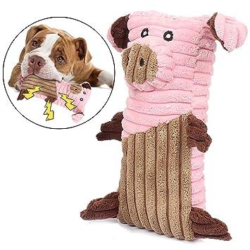 Legendog Mascota Felpa Juguete Interactivo Limpieza Animal Perro La Dentición Juguete Mascota Chirriante Juguete: Amazon.es: Productos para mascotas