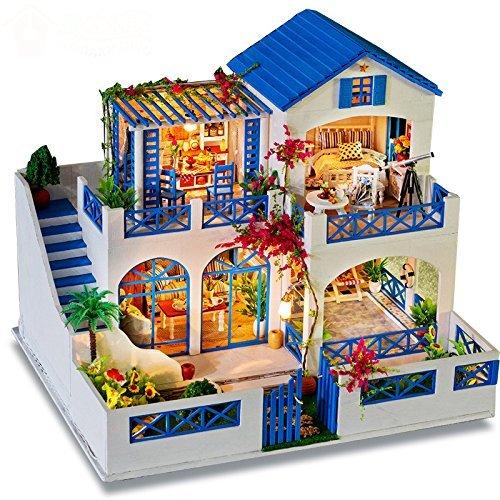Kit mano Dollhouse impostato in miniatura giardino Meteor Garden Meteor