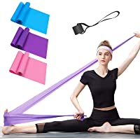 Resistance Bands Set, 3 Pack Professional Latex Elastic Bands for Home or Gym Upper & Lower Body Exercise, Physical…
