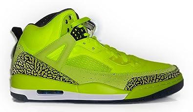 outlet store 84be4 be58b Amazon.com   Nike Air Jordan Spizike BHM Mens Basketball Shoe (Volt   Black    Photo Blue) 579593-712 (10)   Basketball