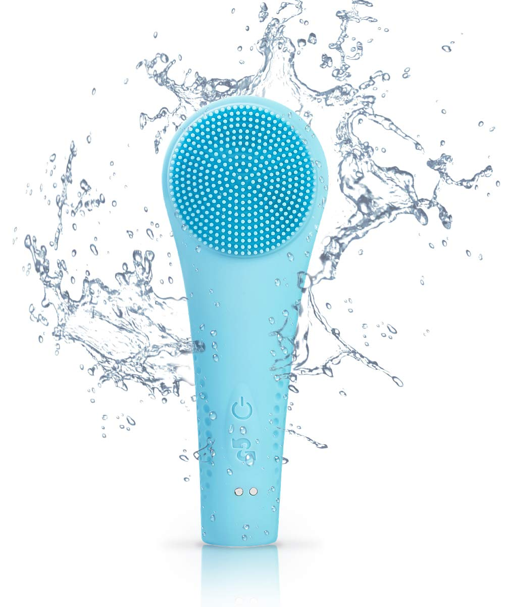 Silicone Facial Skin Cleansing Scrubber Devices Rechargeable